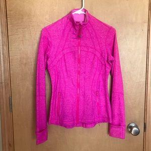 Lululemon Define Pink Athletic Jacket